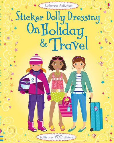 Sticker Dolly Dressing: Holiday and Travel