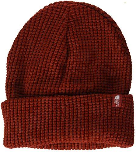 The north face, tnf waffle, berretto, unisex adulto, rosso (caldera red), taglia unica