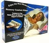 "SAS, Cervical Orthopedic Memory Cotton Foam Pillow - 18""x12"" Color - White"