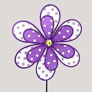 Moulin à vent double Violet
