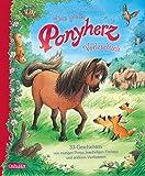 Das große Ponyherz-Vorlesebuch – 33 Geschichten von mutigen Ponys, kuscheligen Füchsen und anderen Vierbeinern