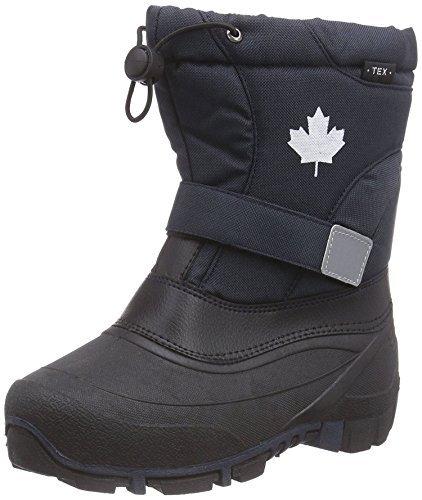 Canadians Indigo 467 185 Hiver Neige Bottes Doublure Polaire Unisexe en 6 Couleurs