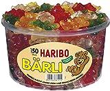 Haribo - Bärli - große Gummibärchen - Fruchtgummi, 150 Stück