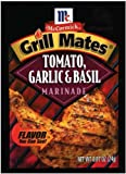 McCORMICK GRILL MATES TOMATEN KNOBLAUCH& BASILIKUM MARINADE 1 x 24 g BEUTEL Amerikanischer Import