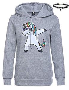 Landove Unicornio frotando con capucha