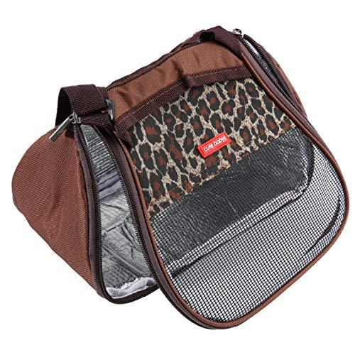 Tree-on-Life Mode Hamster Ratte Igel Träger Paket Tasche Atmungsaktives Mesh Reißverschluss Schlaf Hängen Tasche für Chinchilla Frettchen kat (Chinchilla Tasche)