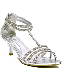 Amazon.co.uk: Kitten Heel - Sandals / Women's Shoes: Shoes & Bags