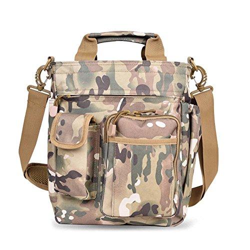 Wandern Taille Packs ZHANGRONG- Schulter Nylon Messenger Bag Camouflage Tasche Oxford Tuch Geschäftshandtasche Multifunktionale Freizeit Taschen (Mehrfache Farben Vorhanden) (Farbe : 2) - Camouflage Nylon-schulter-bag
