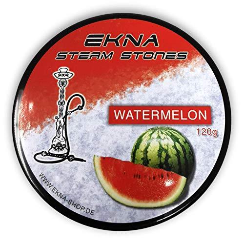 EKNA® Steam Stones Watermelon 120g - Fruchtig, Intensiver Geschmack - Shisha Steine - Dampfstein Granulat