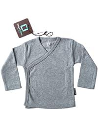 Baby Wickelshirt, Flügelhemd Wickeljacke, baby top, baby shirt, Neugeborenen