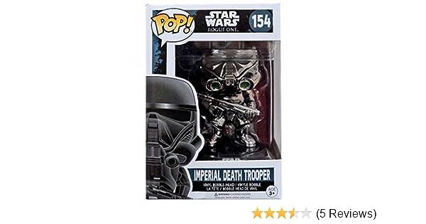 Rogue One Star Wars Vinyl Funko POP Imperial Death Trooper Chrome 154