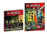 LEGO NINJAGOTM Freundschaftsbuch: Meine besten Freunde + LEGO NINJAGOTM Heft: Wettlauf mit der zeit