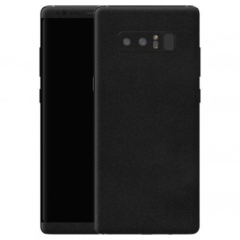 GADGETS WRAP Samsung Galaxy Note 8 Black Matte Skin For Full Body Back & Front -CO-