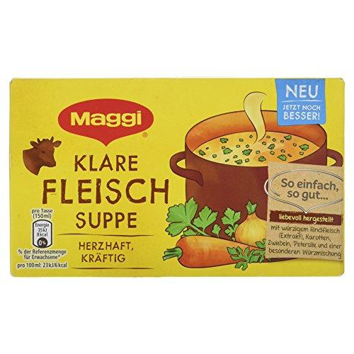 Maggi Klare Fleisch-Suppe, für 8x1L, 160 g