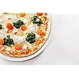 """2er Set Pizzateller, Universalteller, flacher Teller, Ø 30cm, """"Blue Drops"""" TK-979"""
