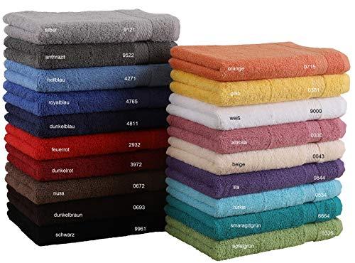 Betz Serviette de toilette 100% coton taille 50x100 cm pour visage mains corps serviette Premium couleur turquoise