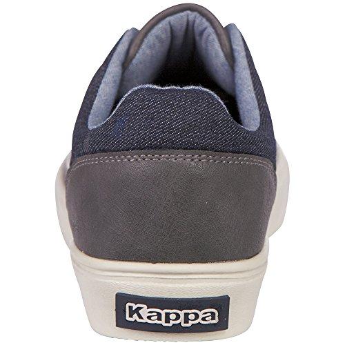 Kappa Unisex Adulto Brick Lf Low-top Grey (1667 Grigio / Navy)