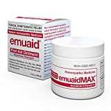 EmuaidMAX Salbe - Antimykotische, Ekzem-Creme | Behandlung Gegen Fußpilz, Nagelpilz, Psoriaisis, Juckende Haut und Rötungen | Gegen Ringwürmer, Hautausschlag, Gürtelrose und Hautinfektionen