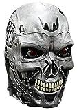 Terminator Genisys Maske Lizenzware Cyborg Silber Einheitsgröße