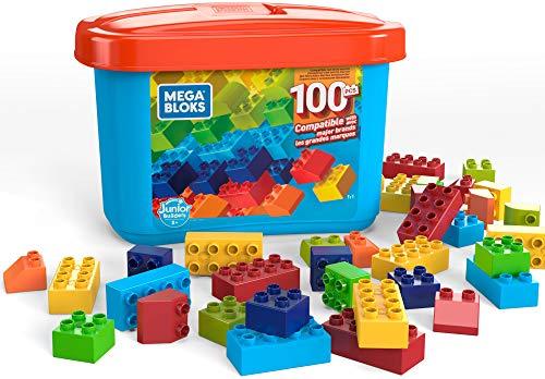 Mega Bloks Caja de 100 bloques de construcción