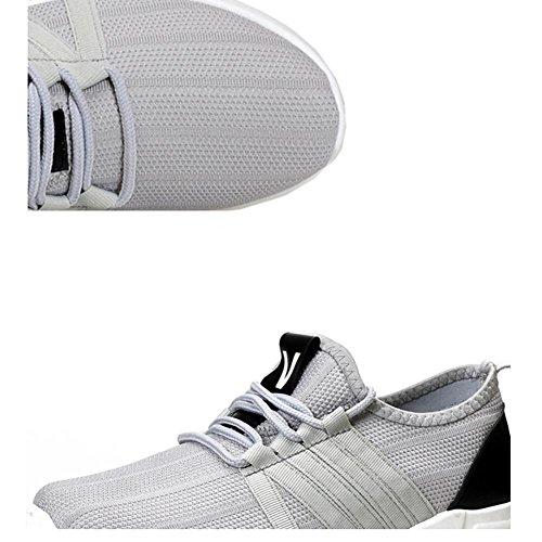 moda Scarpe Ms sportive da Scarpe Gray traspirante maschile corsa scarpe basse 6YCYq