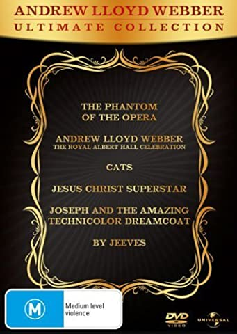 Andrew Lloyd Webber - Ultimate Collection - 6-DVD Set ( The Phantom of the Opera / Andrew Lloyd Webber: The Royal Albert Hall Celebration / Cats / Jesus Christ Superstar / Joseph and the Amazing Technicolor Dreamcoat / By Jeeves ) by Gerard
