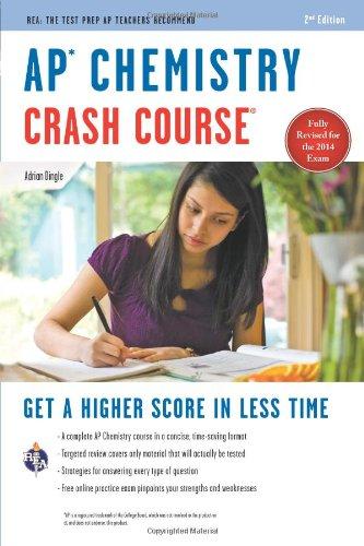AP(R) Chemistry Crash Course, 2nd Ed., Book + Online (Advanced Placement (AP) Crash Course)