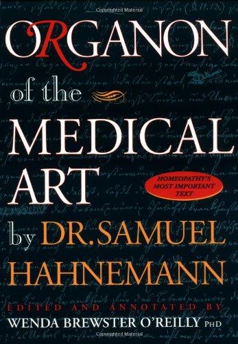 READ BOOK Organon of Medical Arts PDF By Wenda Brewster O Reilly