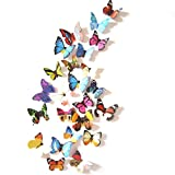 Bovake Gardine Duschvorhang 3D DIY Wandaufkleber Aufkleber Schmetterling Wohnkultur Raumdekorationen Neue