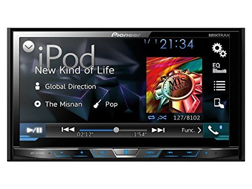 Pioneer AVH-X4700BS DVD Receiver with 7 Motorized Display Bluetooth Siri Eyes Free SiriusXM-Ready Android Music Support and Pandora AVHX4700BS Discontinued by Manufacturer  available at amazon for Rs.44447