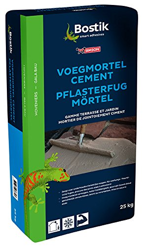 Bostik Pflasterfugenmörtel Zement 25kg Sack sand