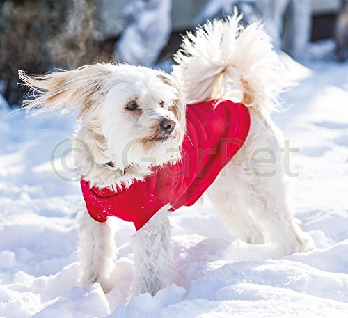 Hundepullover Denver 40 cm rot