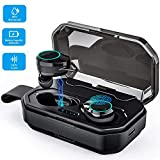 [2019 New Updated Version]True Wireless Bluetooth Earbuds-24 Hours Playtime Quality Stereo Sound-Latest 5.0