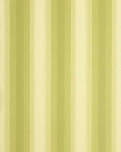 Streifen Tapete EDEM 085-25 Vinyltapete Designer Tapete grün hellgrün beige 5,33 qm (Tapeten-designer)