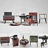 Odoria 1:24 Miniature Vintage Japanese Dollhouse Furniture (Pack of 6)
