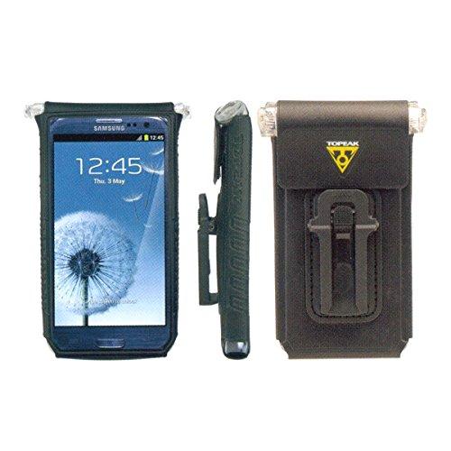 Topeak Fahrt Hülle DryBag Handytasche für 4-5 Zoll Smartphones Black, 14.2x3.1x7.7 cm