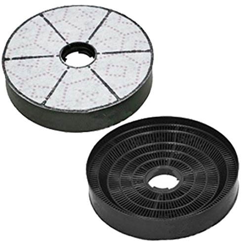 Spares2go - Filtro de aire de carbono tipo D 85 para extractor...