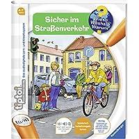 Ravensburger-00580-tiptoi-Wieso-Weshalb-Warum-Sicher-im-Straenverkehr-ohne-Stift