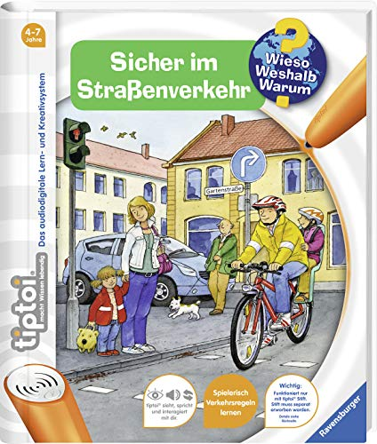 (Ravensburger 00580 - tiptoi: Wieso? Weshalb? Warum? Sicher im Straßenverkehr (ohne Stift))