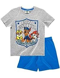 b399ea2935b22 La Pat  Patrouille Pyjama Court Enfant garçon Gris Bleu de 3 à 8ans