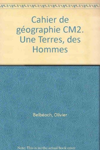 Cahier de géographie CM2