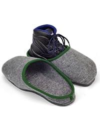 Sur-chaussons d'Intérieur pour Chaussures de Travail avec Semelles en Caouctchouc