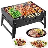 Mbuynow Grill Barbecue Carbone Griglia Barbecue per 4-6 Persone...