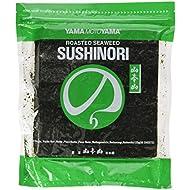 YamaMotoYama Yakizushi Green Sushi Nori Seaweed, 50 sheets