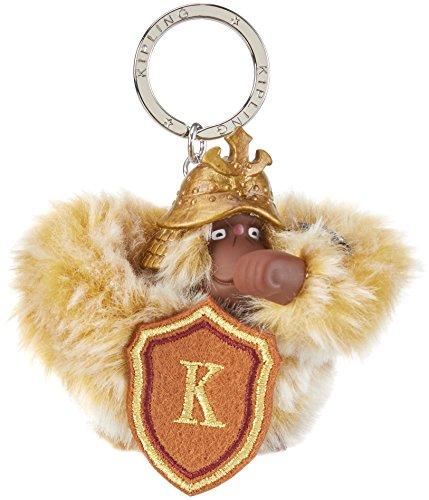 kipling-warrior-monkey-llavero-para-mujer-multicolor-33m-brave-gold-9x85x55-cm-b-x-h-x-t