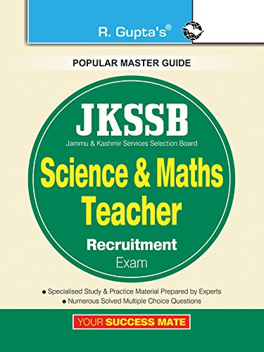 JKSSB: Science & Maths Teacher Recruitment Exam Guide