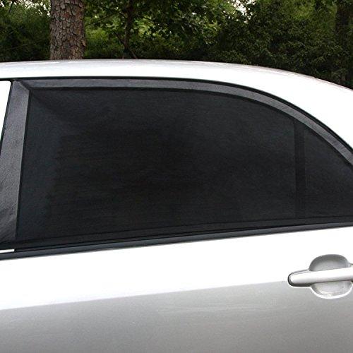 QUMAO-114x52cm-2-pz-Parasole-per-Finestrini-Laterali-di-Auto-Pieghevole-e-Elastico-2-strati-di-stoffa-esterno-e-interno-Resistente-ai-raggi-UV-e-riflessione-della-luce-solare-Compatibile-per-maggior-p