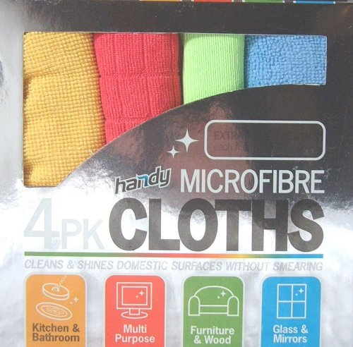 SET OF 4 MICROFIBRE MICRO FIBRE ...