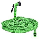 COSTWAY Gartenschlauch Wasserschlauch Flexischlauch Bewässerungsschlauch Zauberschlauch dehnbar flexibel grün Länge 7,5m bis 60m (45m)