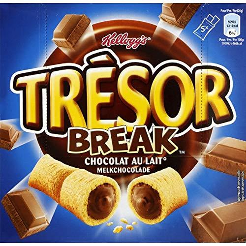 Kellogg'S - Kellogg'S Tresor Break Chocolat Au Lait - 140G - Lot De 4 - Livraison Rapide en France - Prix Par Lot